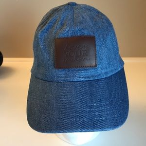 Love your melon baseball denim cap Adjustable